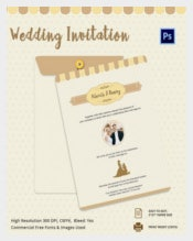 Easy To Edit Wedding Inviatation Template