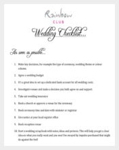 Easy To Download Wedding list