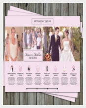 Attractive Wedding Timeline Template