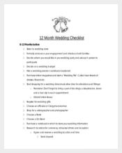 Ready To Print Wedding Planner