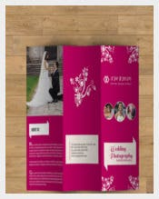Designed Wedding Brochure Template