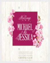 Decent Wedding Flyer Template