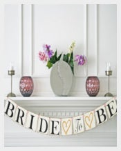 Bridal Shower Wedding Banner Template