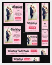 Collection of Wedding Banner Templates