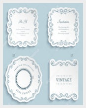 Wedding Invitation Label