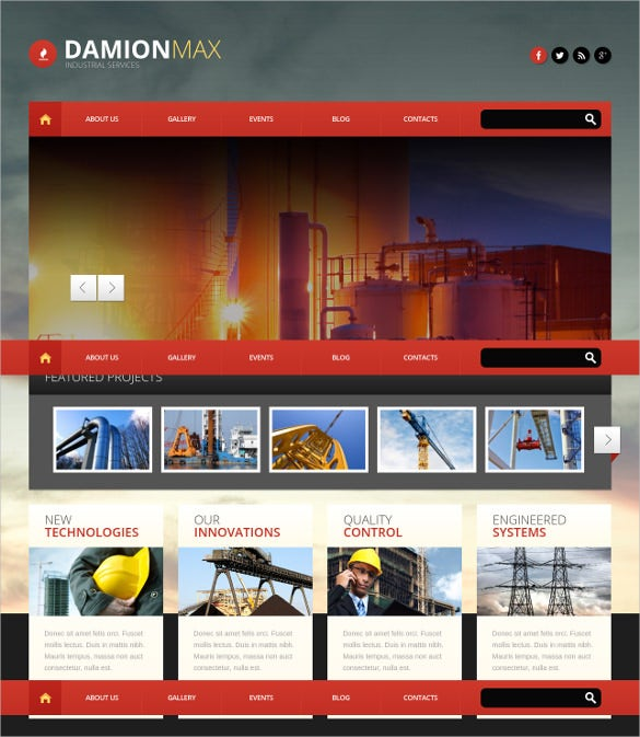 awesome wordpress theme for construction company