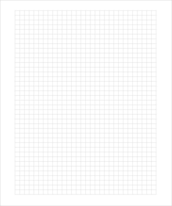 Graphing Paper Template 10 Free PDF Documents Download – Graph Paper Template
