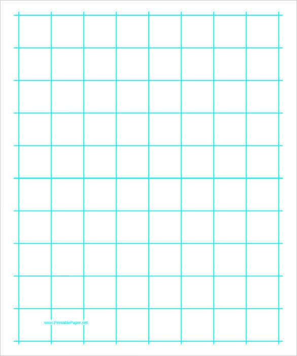 graphing paper with one line per inch download