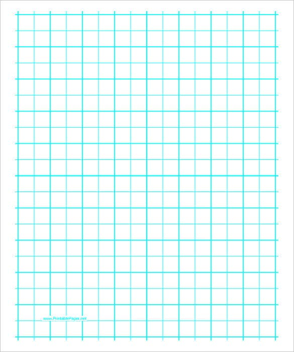 Free Printable Graph Paper With Two Lines Per Inch  Graph Paper Word Document