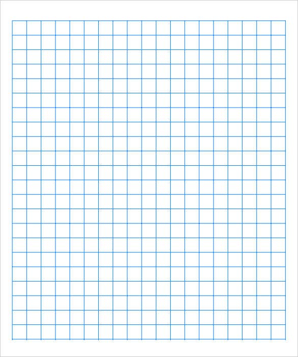 Printable Graph Paper Blue Lines  Imvcorp