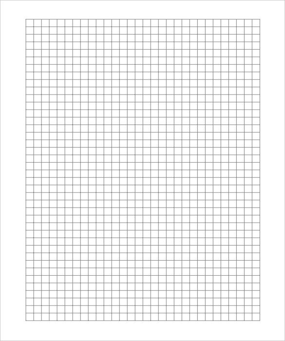 math graphing paper template full page pdf