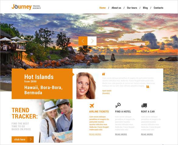 travel membership wordpress template