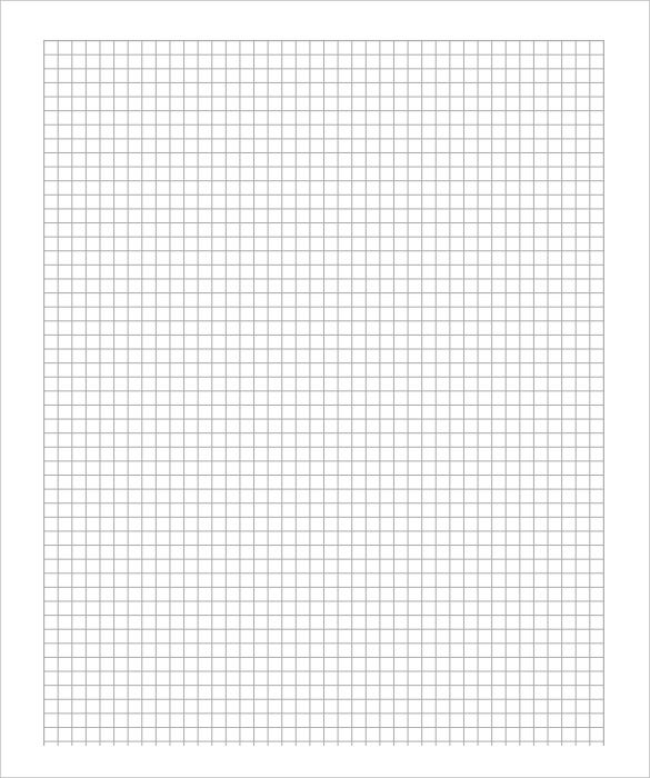 A4 Graph Paper Template Printable Download