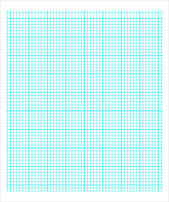 Download Printable Graph Paper With Six Lines PDF  Graphing Paper Printable Template