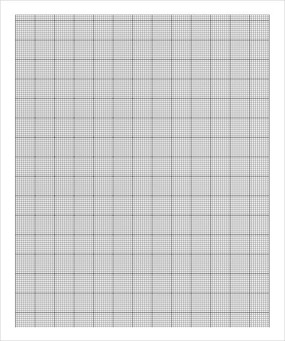 Free Graph Paper Template 8 Free PDF Documents Download – Free Printable Grid Paper for Math