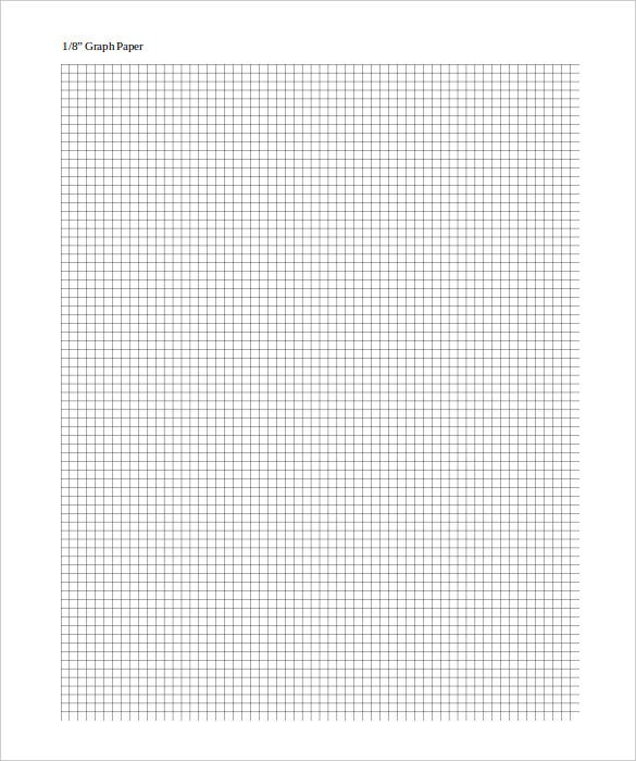 Large Graph Paper Template 10 Free PDF Documents Download – Graph Paper Templates