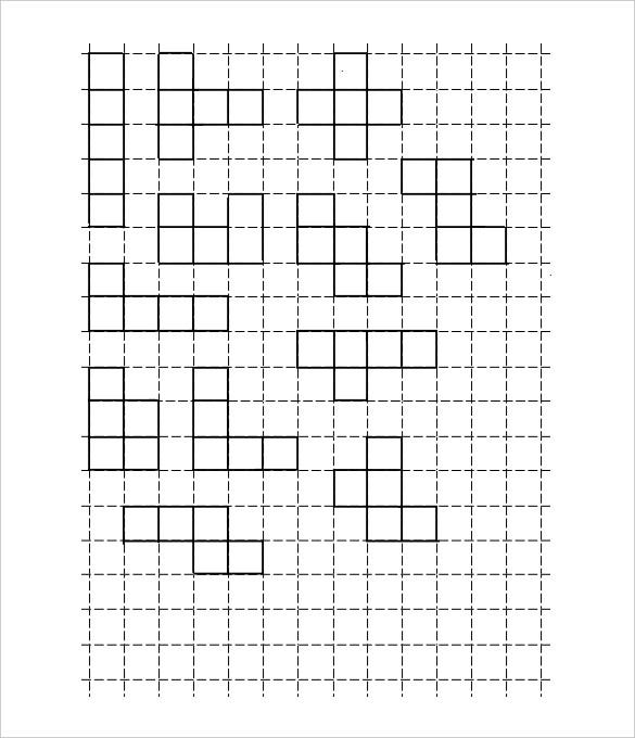 Large Graph Paper Template   Free Pdf Documents Download  Free
