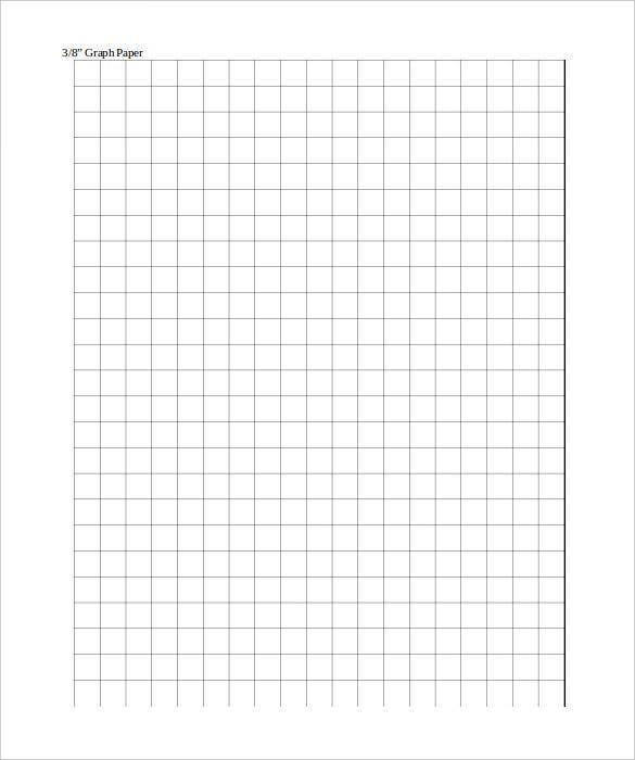 Large Graph Paper Template   Free Pdf Documents Download