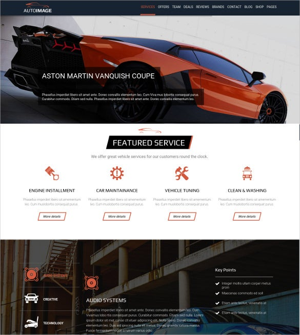 superb car dealer wordpress theme
