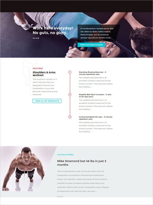 elegant nutrition wordpress theme 551