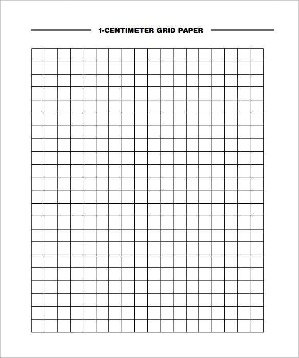 1 centimeter grid graphing paper template free pdf
