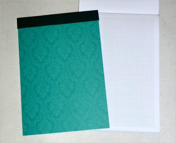 a5 knitters graph paper notebook download