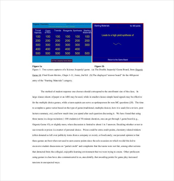 Jeopardy Template For Teachers - 10+ Free Word, Pdf, Ppt Documents