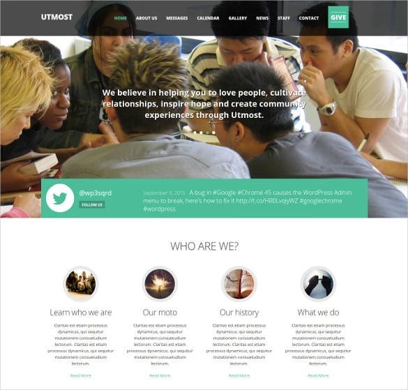 non profit crowdfunding wordpress theme