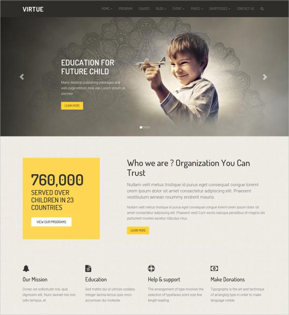 beautiful crowdfunding charity wordpress theme
