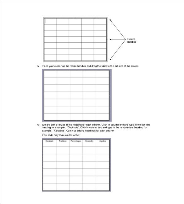Jeopardy template for teachers 10 free sample example for Jepordy template