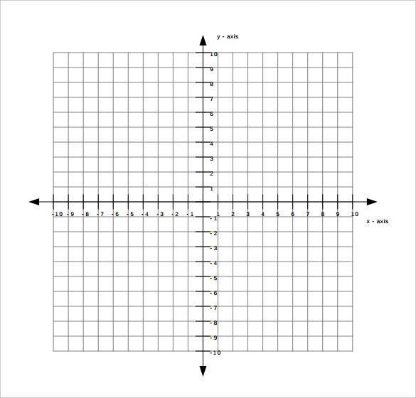 9 free graph paper templates pdf free premium templates for Blank picture graph template