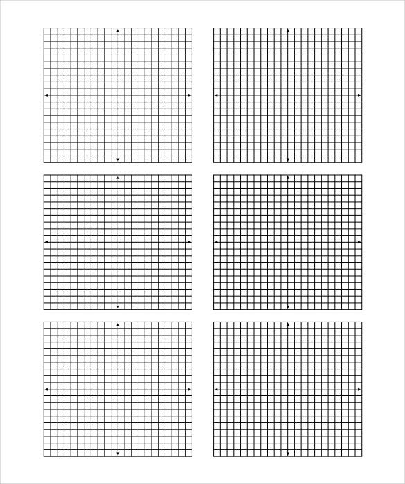 10 Free Graph Paper Templates Free Sample Example Format – Graph Paper with Axis