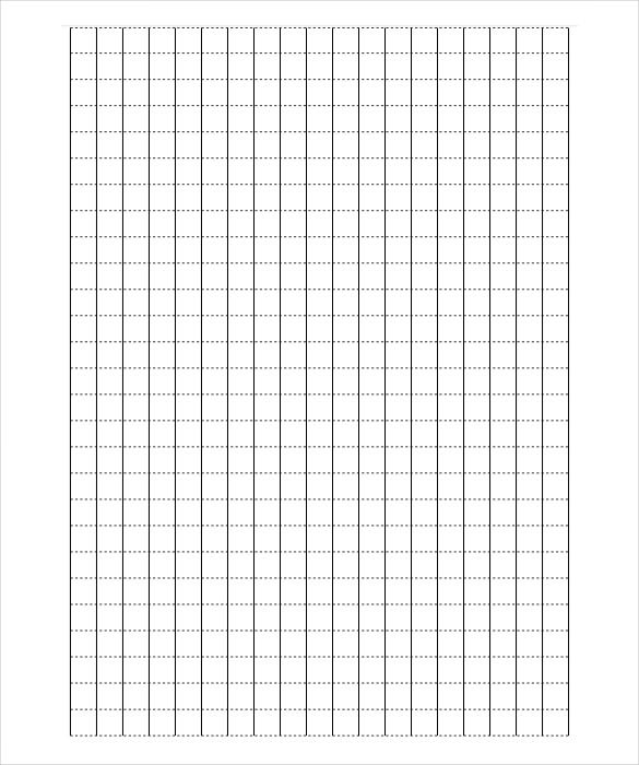 Amazing Asymmetric Graph Paper Template PDF Sample Download Within Graph Paper Sample