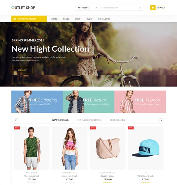 outletshop – woocommerce wordpress theme