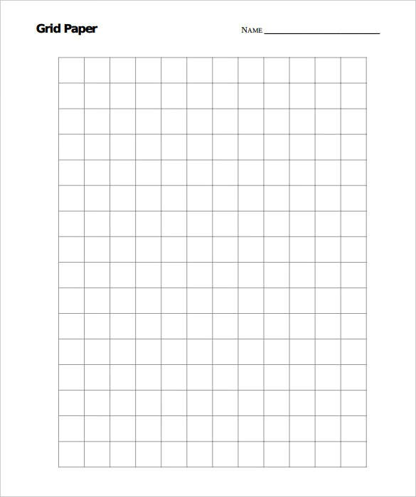 sample grid paper large graph template download