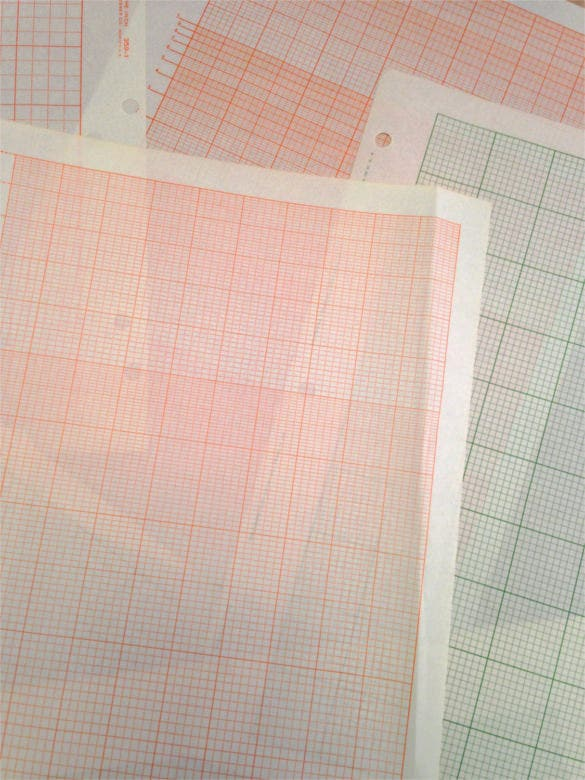 Vintage Graph Paper On Onion Skin Sample Download  Graph Paper Sample