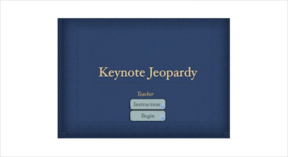 6+ keynote jeopardy templates - free sample, example, format, Modern powerpoint