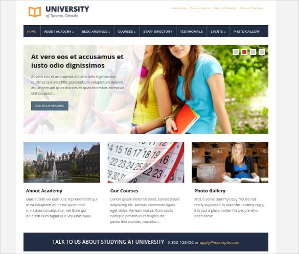 university best wordpress theme