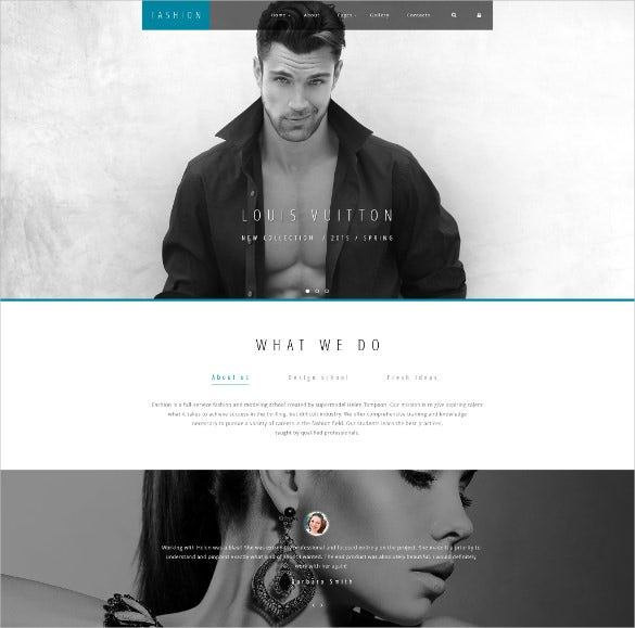 high fashion joomla template