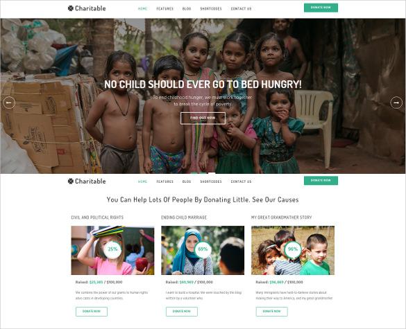 charitable nonprofit joomla template