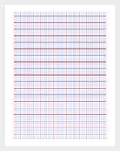 Mmulti-Color-Graphing-Paper-Template-PDF-Sample