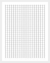 Asymmetric Graph Paper Template PDF Sample Download  Graph Paper Sample