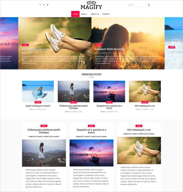 magify a magazine drupal theme
