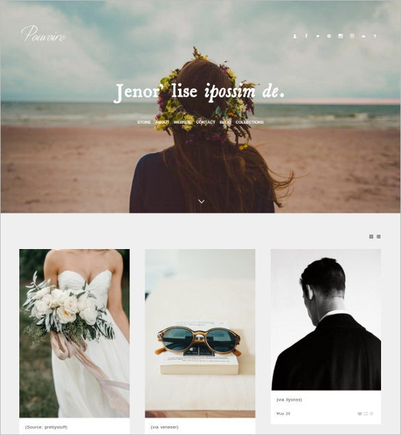 pouvoire tumblr vintage wordpress theme 251
