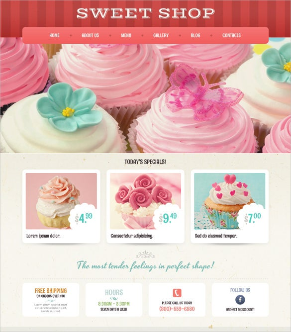 vintage cafe and restaurant wordpress theme