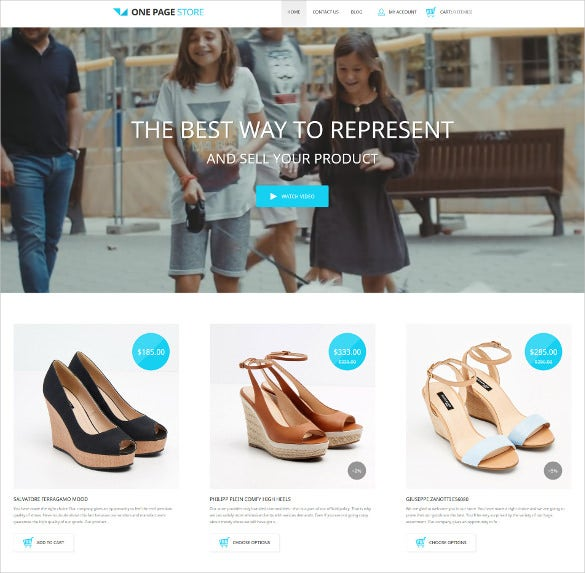 shoe store responsive shopify blog theme