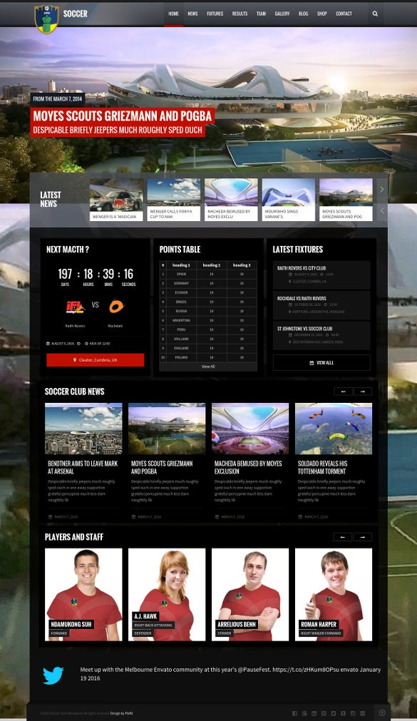 word press theme for football club ofsports