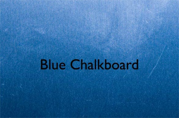 blue chalkboard keynote template download