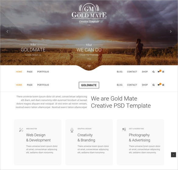 goldmate multipurpose wordpress blog theme