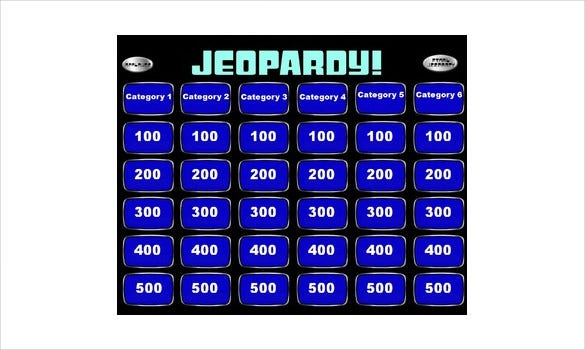 free jeopardy powerpoint presentation template
